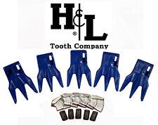 233tr3 Bucket Teeth By Hampl Fits 230 Series Adapters Hammerless Conversion 233