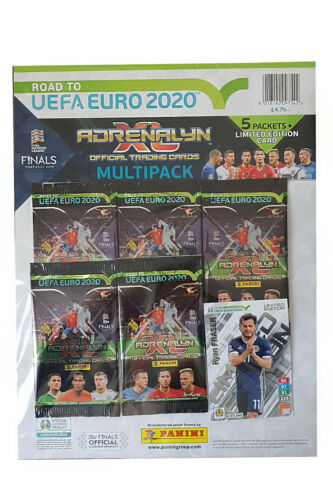 Road to Euro 2020 PANINI ADRENALYN XL Conditionnement multiple SZCZESNY GRIEZMANN Fraser
