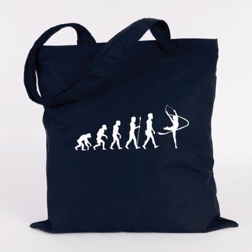 "colores bolso de regalo Juniwords jutebeutel motivo /""Evolution gimnasia/"" pro "