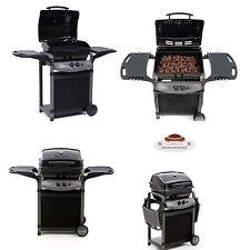 Barbecue a gas e pietra lavica con bruciatoio inox prodotto per esterno brace