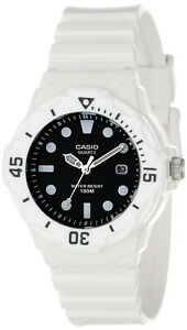 Casio-Ladies-Analog-Anti-Reverse-Bezel-Sport-100M-WR-Watch-Date-LRW-200H-1EV-NEW