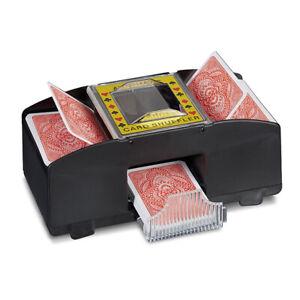 Kartenmischmaschine-elektrisch-Spielkarten-Mischmaschine-fuer-2-Decks