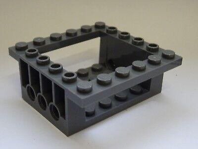 Lego--43712--Cockpit---Schrägstein- Grau//DKStone 4 x 6