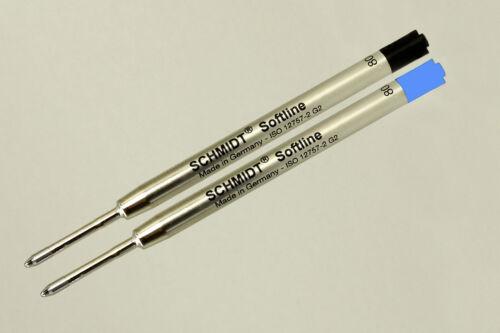 10er Pack SCHMIDT Softline G2 Parker System Mine blau schwarz oder gemischt