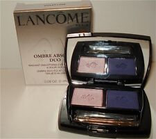 NEW LANCOME OMBRE ABSOLUE DUO EYESHADOW VIOLET LUXE