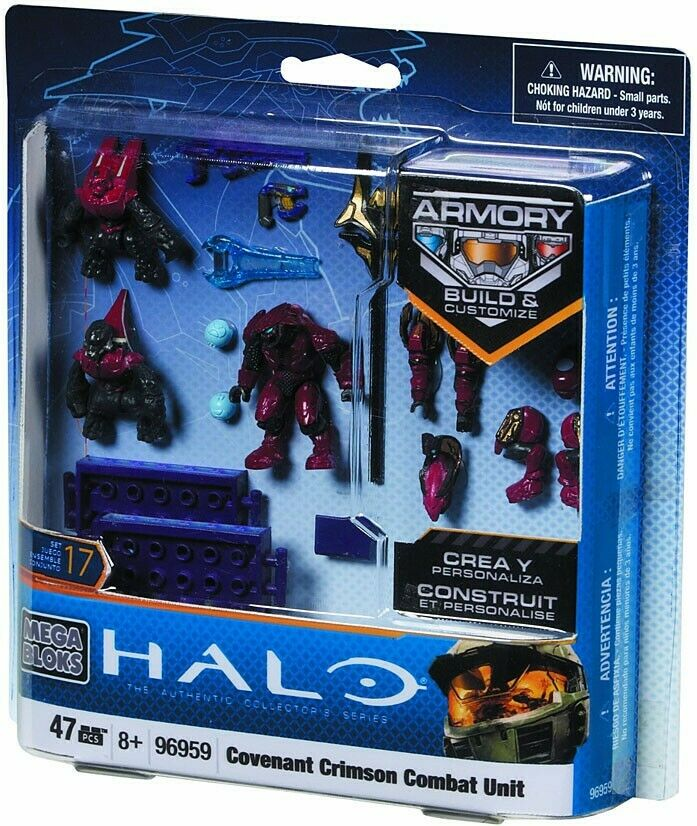 Mega Bloks Halo Crimson Covenant Combat Unit Set