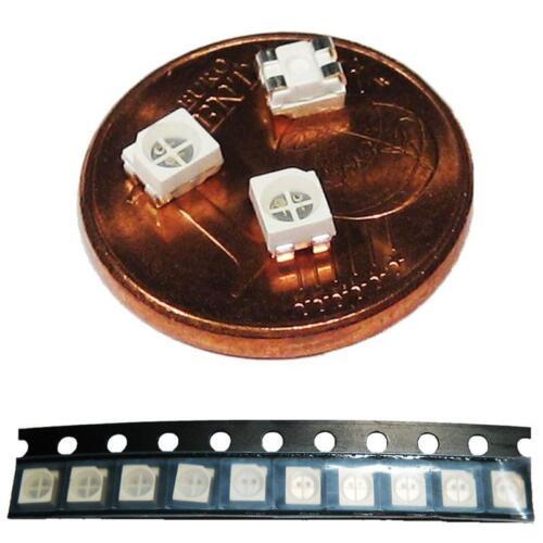 50 doppelchip smd LED 2-Couleur rouge-bleu type 3528 plcc 2