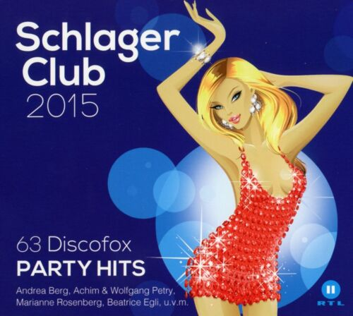 1 von 1 - VARIOUS - SCHLAGER CLUB 2015-63 DISCOFOX PARTY HITS(BEST OF