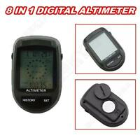 Lcd Digital Compass Thermometer Altimeter Barometer Weather Forecast Camping A10