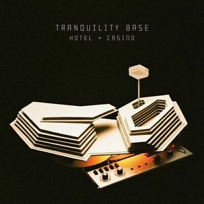 "tranquility Base Hotel /& Casino Album Cover Poster Art Pirnt 12x12/"" 24x24/"" 32x32"