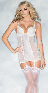 coupon code uk availability pre order Details about SEXY BRIDAL CHEMISE + G-STRING NAUGHTY SLEEPWEAR HONEYMOON  LINGERIE