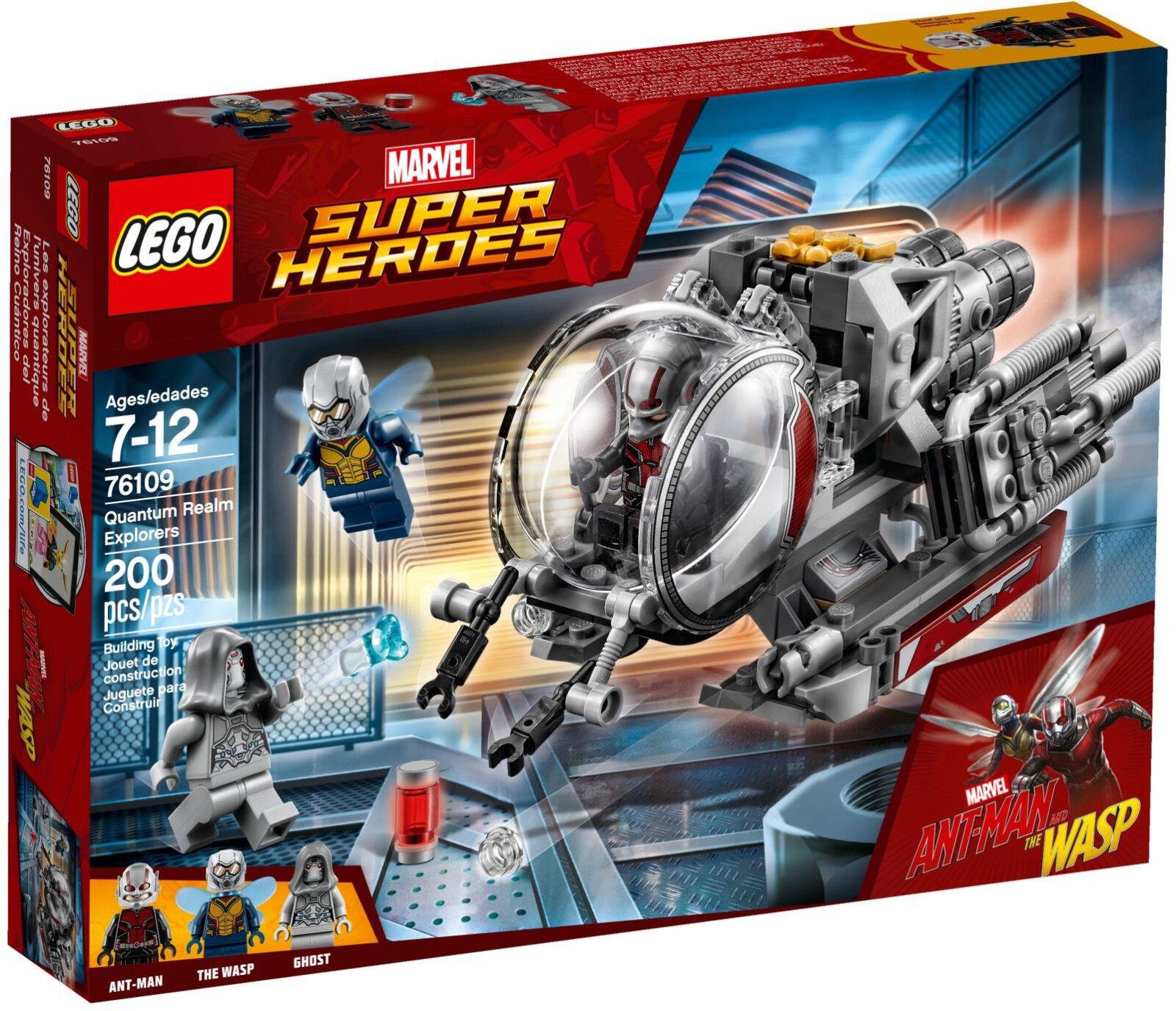Lego Marvel Super Heroes-Ant-Man 76109 exploradores del quantenreichs-nuevo embalaje original