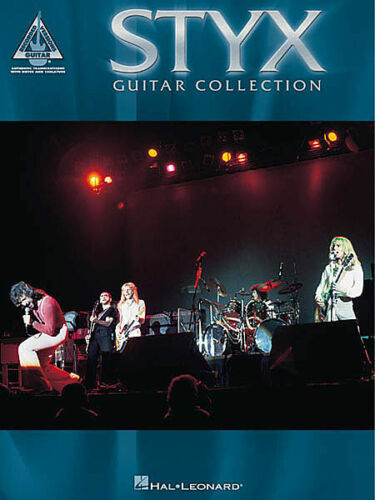 STYX GUITAR COLLECTION TAB MUSIC SONG BOOK NEW