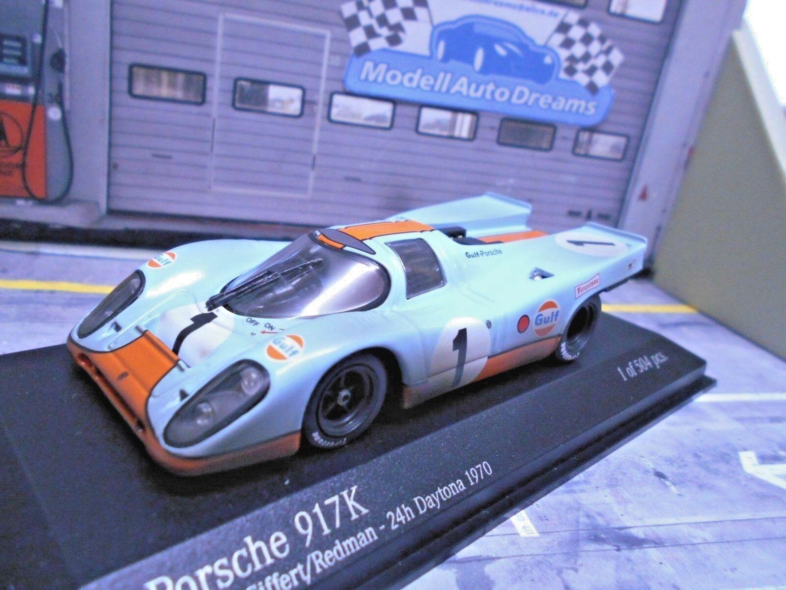 grandes ofertas Porsche 917 K Daytona 1970  1 Gulf Gulf Gulf Wyer Siffert rojoman Dirty  Minichamps 1 43  ordene ahora los precios más bajos