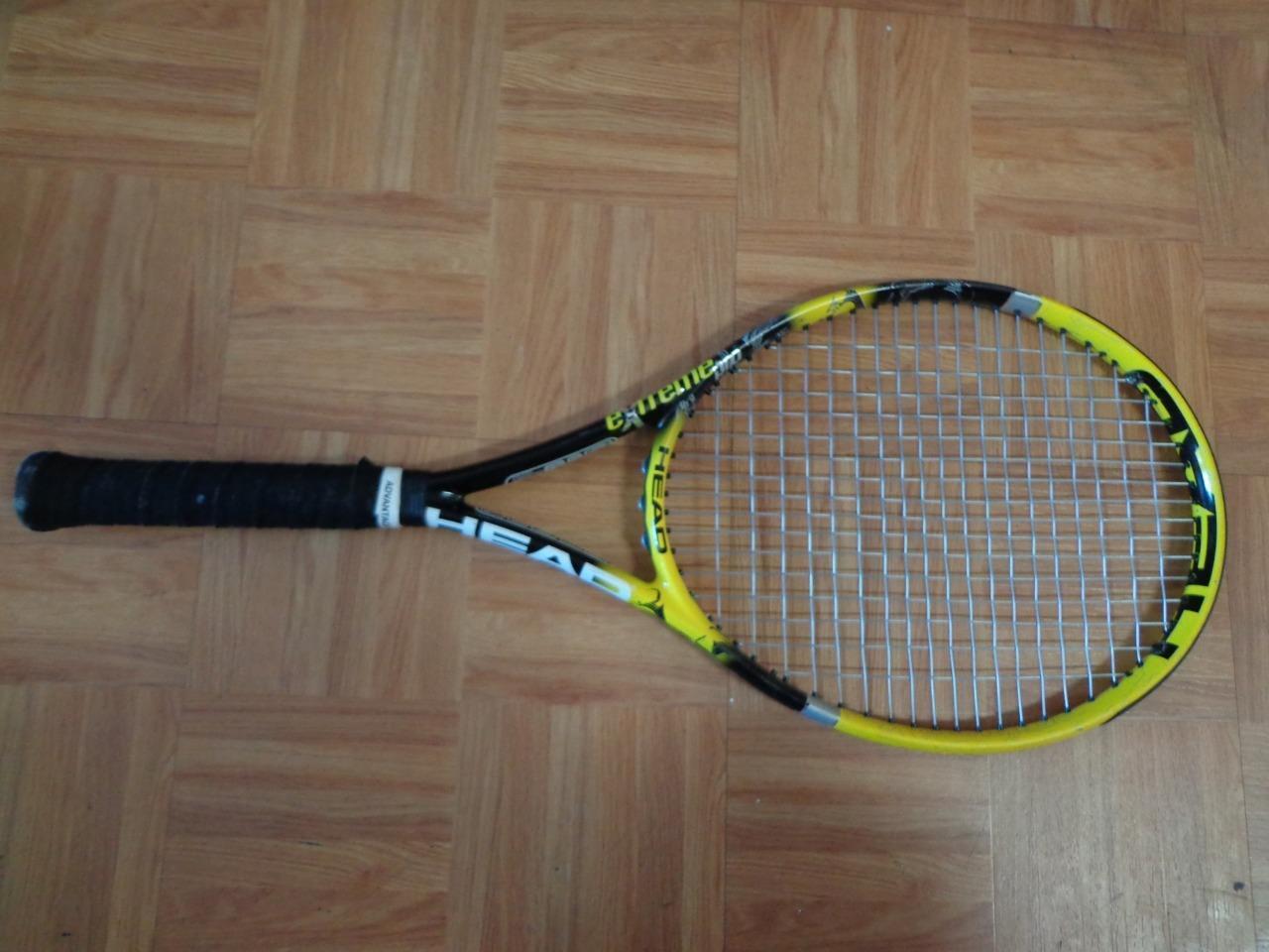 Head YouTEK IG Extreme PRO 100 head 11.1oz  4 1/4 grip Tennis Racquet