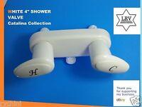 "Phoenix USA R0477-I 4"" White Bath Faucet Shower Valve"