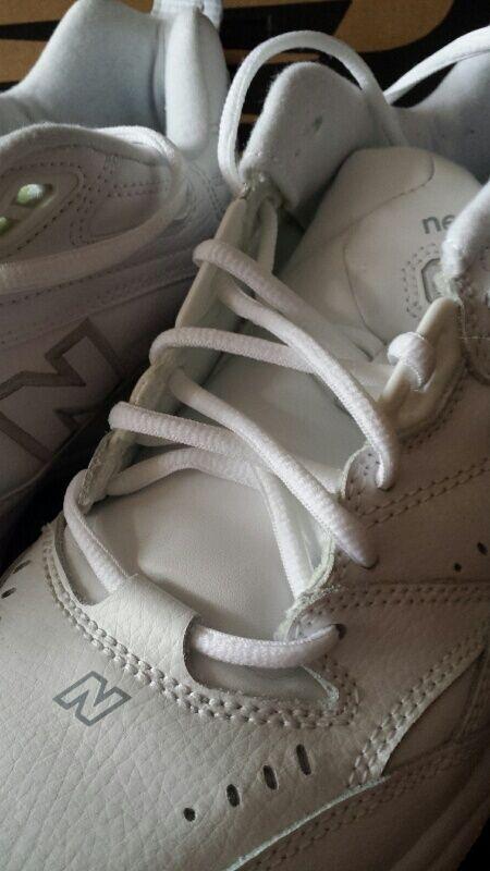 Uomo ginnastica nuovo equilibrio scarpe da ginnastica Uomo bianca taglia 11 4e ottime condizioni in scatola f03784