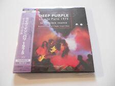 "Deep Purple ""Live in Paris 1975"" Rare 2cd Japan Paper Sleeve"