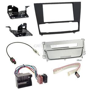 BMW-3-SERIE-E90-CLIMATIZZATORE-AUTOMATICO-05-11-2-DIN-AUTO-RADIO-Einbauset