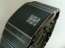 BLACK 70s 1970s Vintage Retro Rotolog Style Led Digital Lcd era Watch Jump Hour