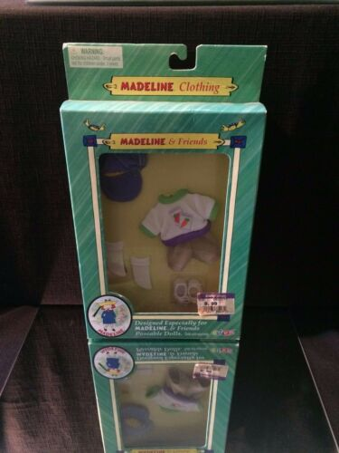 Madeline /& Friends In Bloom Outfit Accessories New in Box RETIRED ~ eden 2000
