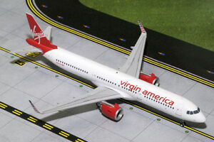 gemini jets virgin america a321neo 1 200 die cast g2vrd678 in stock