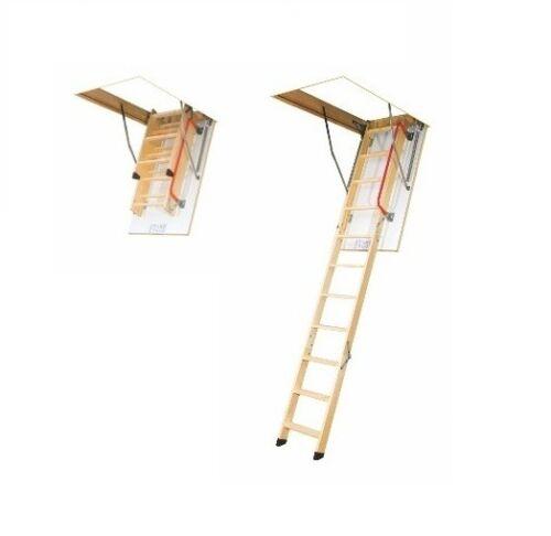 Bodentreppe Speichertreppe FAKRO LWK Komfort 70 x 130 x 280 cm