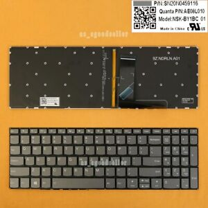 Details about for Lenovo ideapad 330-15IKB U/ 330-17IKB D / 330-17IKB  Keyboard US BACKLIT GRAY
