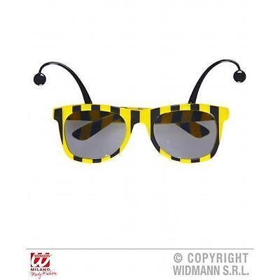 Neu Hummel Sonnenbrille Mit Antennen Neuheit Brillen Wespe Kostüm Verkaufspreis