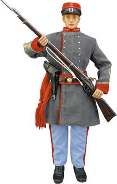 1 6 IGNITE CSA American Civil War Soldier 12  action figure