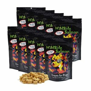 WildSide-Wild-Alaskan-Freeze-Dried-Salmon-USA-Dog-Training-Treats-3oz-10-Pack