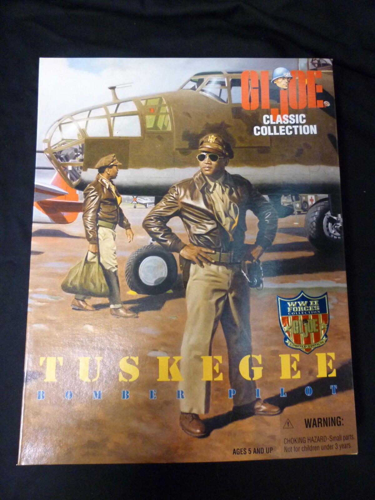 Gi Joe 12 Pulgadas Tuskegee Bomber Pilot Hasbro Juguetes Figura Nuevo 1996