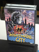 Nightmare City (dvd) Umberto Lenzi, Mel Ferrer, Anchor Bay Dvd Brand