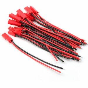JST-Plug-Connector-5pairs-Wire-lengt100mm-Male-Female-for-RC-BEC-Lipo-FPV