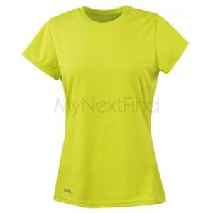 Spiro-Sports-Activewear-Womens-Quick-Dry-Short-Sleeve-T-Shirt