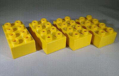 Bright Light Orange x1 Brique Brick 2x4 LEGO DUPLO 3011