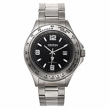 Croton Men's CA301253SSBK Aquamatic Tachymeter Bezel Quartz Watch