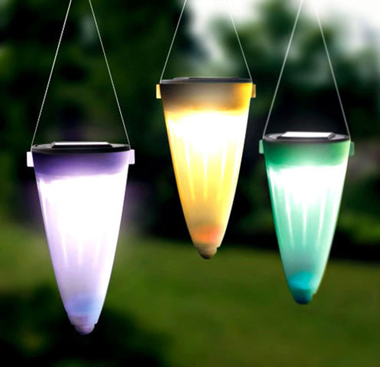 Isotronic Led Luz Solar Lámpara Exterior Juego de 6 RGB