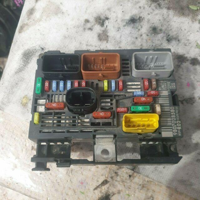 Genuine Peugeot Citroen Fuse BPGA Box Electricity central P//N 6500GR