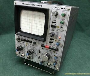 Dual Trace Oscilloscope HAMEG HM 512