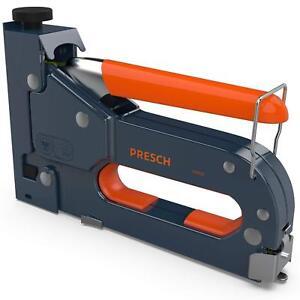 PRESCH-Handtacker-Set-inkl-600-Tackerklammern-TUV-GS-gepruefter-Profi-Tacker