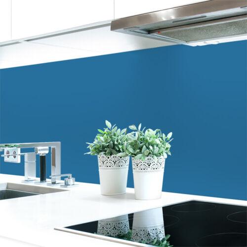 Küchenrückwand Blautöne 2 Unifarben  Premium Hart-PVC 0,4 mm selbstklebend