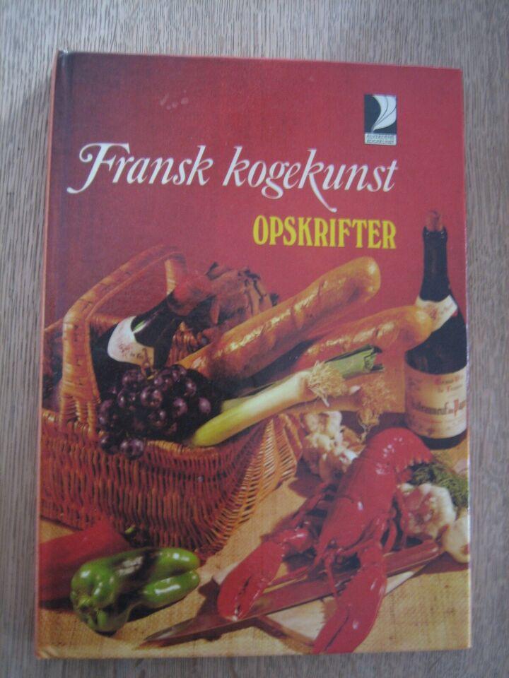 Fransk kogekunst, Conrad Bjerre-Christensen, emne: mad