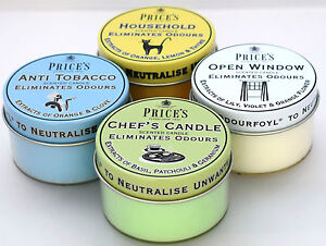 Tealights Candle Eliminates Odours Neutralise Unwanted Odours Price`s Candles