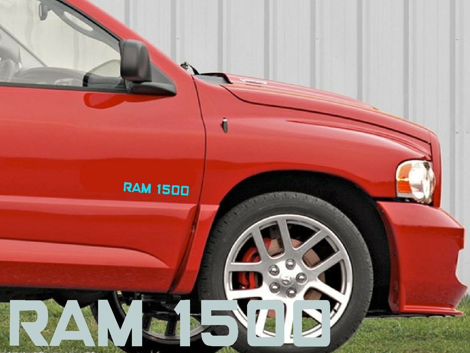 dodge ram 1500 autocollant sticker voiture vitre arri re tuning capot porte usa ebay. Black Bedroom Furniture Sets. Home Design Ideas