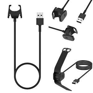 Per-Fitbit-CARICA-3-culla-di-ricarica-USB-Cavo-Caricabatteria-Per-Orologio-sostituzione-del-cavo-MV