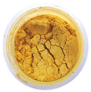 Egyptian Gold Metallic Luster Dust 4g for Cake Decorating ...