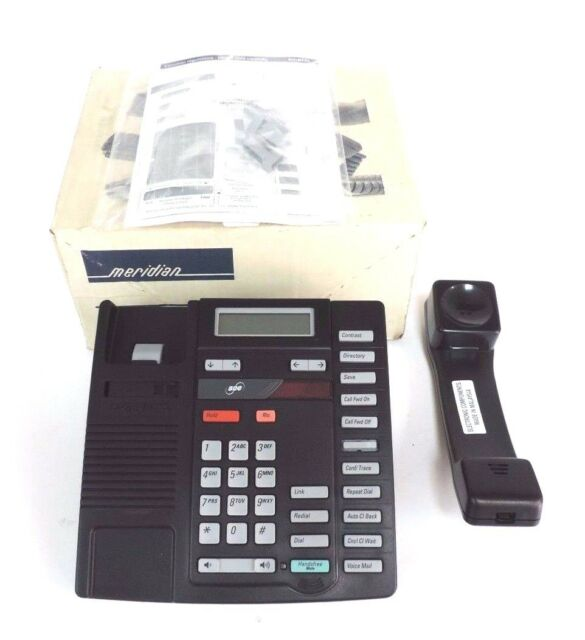 AASTRA NORTEL TELECOM TELEPHONE BLACK 9216e M9216E