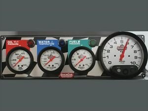 QuickCar-3-Gauge-Panel-OP-WT-FP-With-5-034-Tach-61-6042