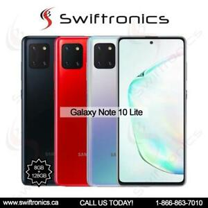 Brand New Samsung Galaxy Note 10 Lite 6/128GB Factory Unlocked Canada Preview